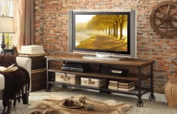 Millwood Distressed Ash 65-inch TV Stand Available Online in Dallas Fort Worth Texas
