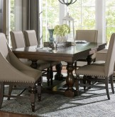 Homelegance Reid Cherry Rectangular Dining Table with Leaf Available Online in Dallas Fort Worth Texas