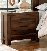 Homelegance Sedley Walnut Night... Available Online in Dallas Fort Worth Texas