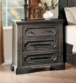 Toulon Dark Oak Night Stand Available Online in Dallas Fort Worth Texas