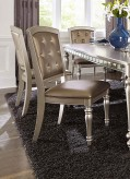 Homelegance Orsina Silver Side ... Available Online in Dallas Fort Worth Texas