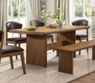 Homelegance Tod Brown Rectangular Dining Table Available Online in Dallas Fort Worth Texas