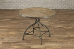 Homelegance Beacher Round Adjustable Height Dining Table Available Online in Dallas Fort Worth Texas