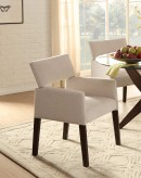 Homelegance Massey Espresso/Beige Arm Chair Available Online in Dallas Fort Worth Texas