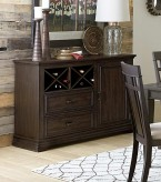 Homelegance Makah Dark Brown Se... Available Online in Dallas Fort Worth Texas
