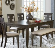 Homelegance Makah Dark Brown Rectangular Dining Table Available Online in Dallas Fort Worth Texas