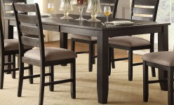 Homelegance Stevensville Dark Brown Rectangular Dining Table Available Online in Dallas Fort Worth Texas