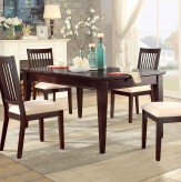 Homelegance Timber Forge Cherry Rectangular Dining Table Available Online in Dallas Fort Worth Texas