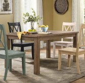 Homelegance Janina Natural/Pine Rectangular Dining Table Available Online in Dallas Fort Worth Texas