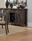 Homelegance Mattawa Brown Server Available Online in Dallas Fort Worth Texas