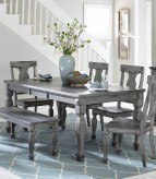 Homelegance Fulbright Grey Rectangular Dining Table Available Online in Dallas Fort Worth Texas