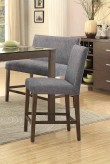 Homelegance Fielding Brown Counter Height Chair Available Online in Dallas Fort Worth Texas