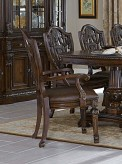 Homelegance Chilton Cherry Arm ... Available Online in Dallas Fort Worth Texas