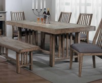 Homelegance Codie Burnished Brown Dining Table Available Online in Dallas Fort Worth Texas