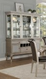 Homelegance Crawford Silver Buffet & Hutch Available Online in Dallas Fort Worth Texas