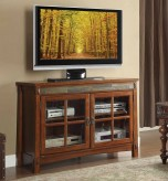 Homelegance Falls Brown Cherry TV Stand Available Online in Dallas Fort Worth Texas