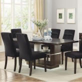 Coaster Lincoln Dark Walnut Rectangular Dining Table Available Online in Dallas Fort Worth Texas