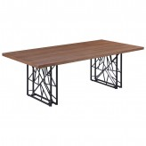 Coaster Chancelor Walnut Dining Table Available Online in Dallas Fort Worth Texas