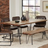 Coaster Chambler Natural Honey Rectangular Dining Table Available Online in Dallas Fort Worth Texas