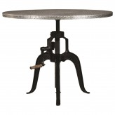 Coaster Rhea Zinc Adjustable Height Dining Table Available Online in Dallas Fort Worth Texas