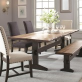 Coaster Burnham Two-Tone Dining Table Available Online in Dallas Fort Worth Texas