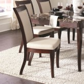 Cornett Dark Brown Dining Chair Available Online in Dallas Fort Worth Texas