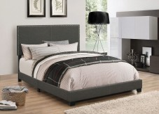 Boyd Charcoal Queen Bed Available Online in Dallas Fort Worth Texas