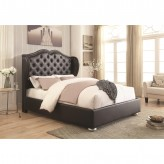 Coaster Clarice Black Queen Platform Bed Available Online in Dallas Fort Worth Texas