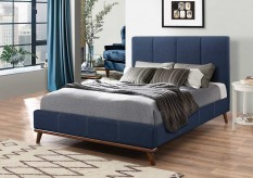 Charity Blue Queen Bed Available Online in Dallas Fort Worth Texas