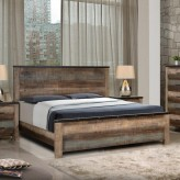 Sembene Multicolor Queen Panel Bed Available Online in Dallas Fort Worth Texas
