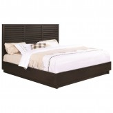 Coaster Matheson Graphite Queen Platform Bed Available Online in Dallas Fort Worth Texas