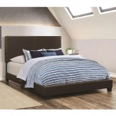 Dorian Brown King Bed Available Online in Dallas Fort Worth Texas