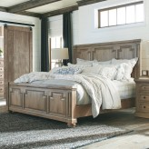 Florence Solid Pine King Bed Available Online in Dallas Fort Worth Texas