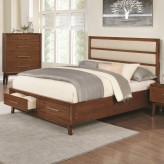 Coaster Pils King Bed Available Online in Dallas Fort Worth Texas