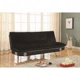 Coaster Futons Black Sofa Bed Available Online in Dallas Fort Worth Texas