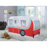 Coaster Mooney Camper Red and White Twin... Available Online in Dallas Fort Worth Texas