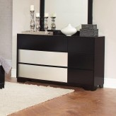 Coaster Havering Black and Sterling Dresser Available Online in Dallas Fort Worth Texas