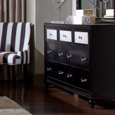 Barzini Black Dresser Available Online in Dallas Fort Worth Texas