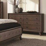 Bingham Brown Oak Dresser Available Online in Dallas Fort Worth Texas