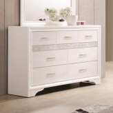 Miranda White Dresser Available Online in Dallas Fort Worth Texas