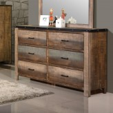 Sembene Multicolor Dresser Available Online in Dallas Fort Worth Texas