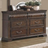 Satterfield Warm Bourbon Dresser Available Online in Dallas Fort Worth Texas