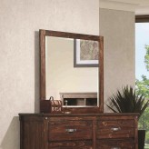 Coaster Noble Rustic Oak Mirror Available Online in Dallas Fort Worth Texas
