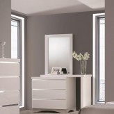 Coaster Alessandro Glossy White Mirror Available Online in Dallas Fort Worth Texas
