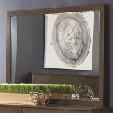 Coaster Lompoc Ash Brown Mirror Available Online in Dallas Fort Worth Texas