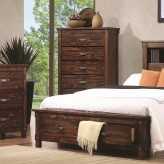 Coaster Noble Rustic Oak Chest Available Online in Dallas Fort Worth Texas