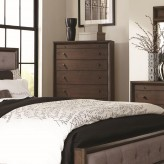 Coaster Bingham Brown Oak Chest Available Online in Dallas Fort Worth Texas