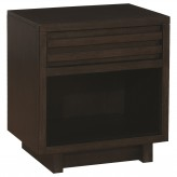 Coaster Matheson Graphite Nightstand Available Online in Dallas Fort Worth Texas