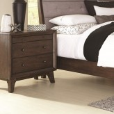 Bingham Brown Oak Nightstand Available Online in Dallas Fort Worth Texas