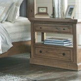 Florence Solid Pine Night Stand with USB Charging Available Online in Dallas Fort Worth Texas